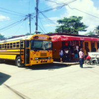 Nicaragua Culture: Chicken Bus
