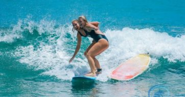 Weekly Surf Retreat Story at Chica Brava