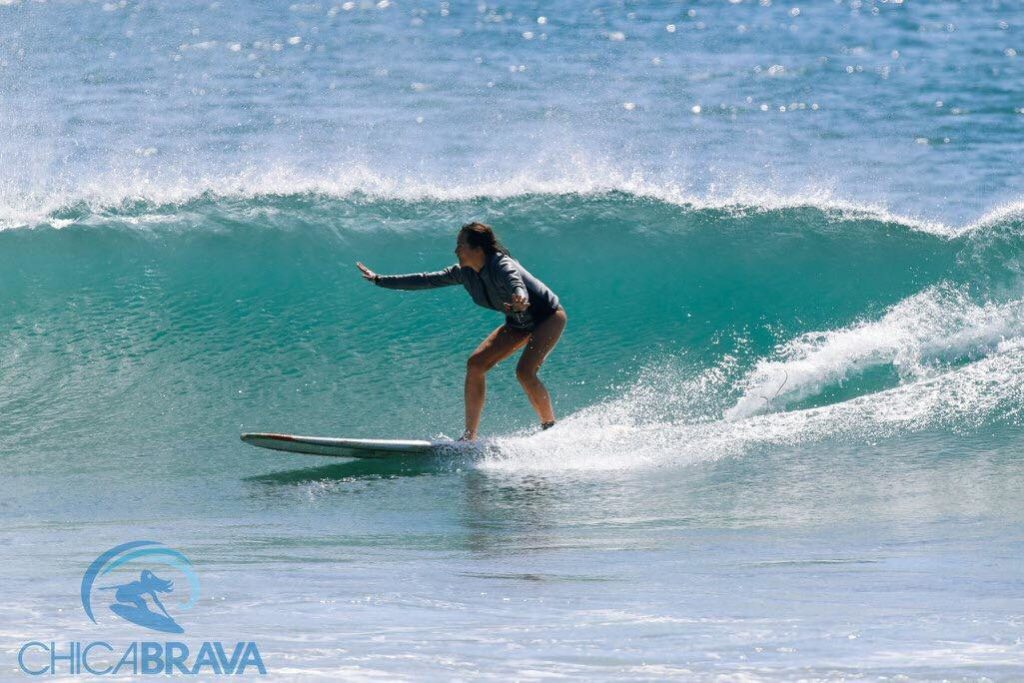 Learning to Surf in Nicaragua: Chica Brava