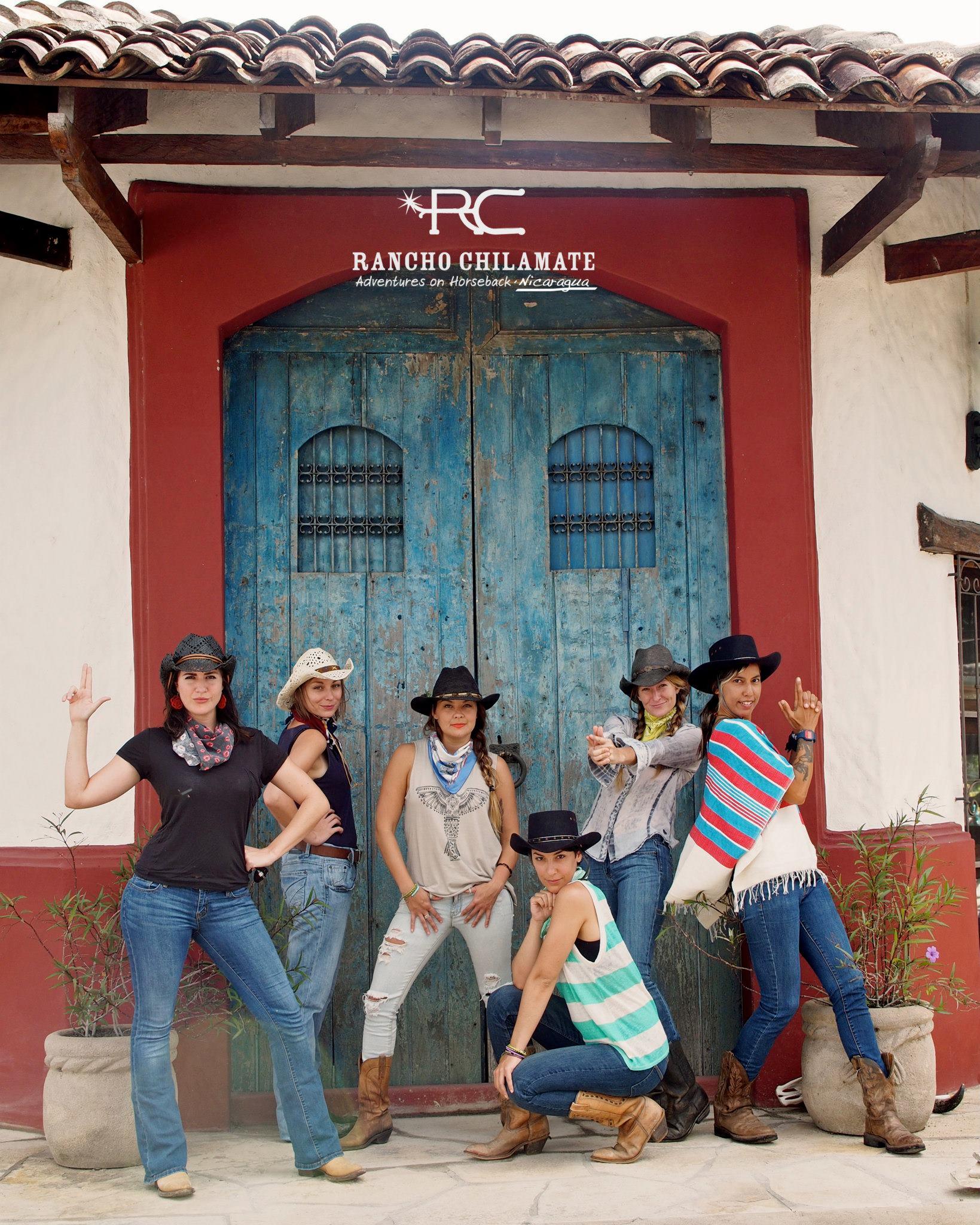 Rancho Chilamate Horseback Riding Tours Adventure Activity In Sjds Chica Brava Surf Retreat