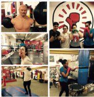 Karam in Canada gym
