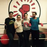 Surf Instructor Karam at gym with friends