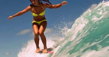 How to Hang Ten on a Surfboard