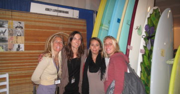 ChicaBrava at Sacred Craft Surfboard Expo- Santa Cruz, CA