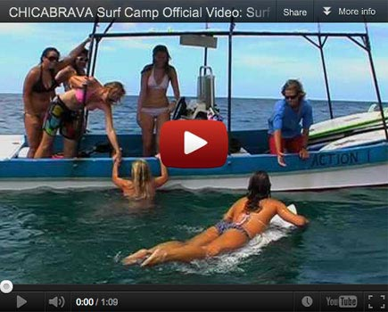 The finest all girls surf retreat and womens surf camp Nicaragua has to offer!