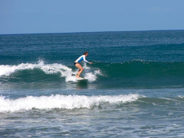 Surfing Playa Remanso Nicaragua