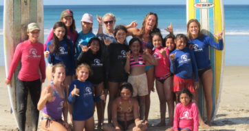 Chica Brava: Empowering Young Girls through Learning to Surf – by ThirdEyeMom