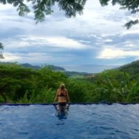 Pool Time at Surf Retreat in Nicaragua