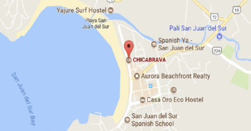 Surfing in San Juan Del Sur