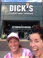 Amy from California at Dicks sporting goods